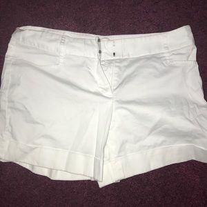 White Express Shorts - SIZE 4